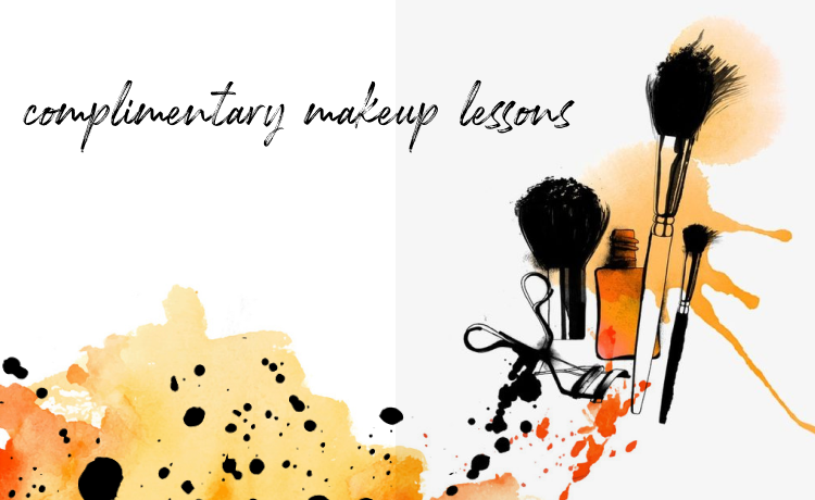 Complimentary Makeup Lessons banner