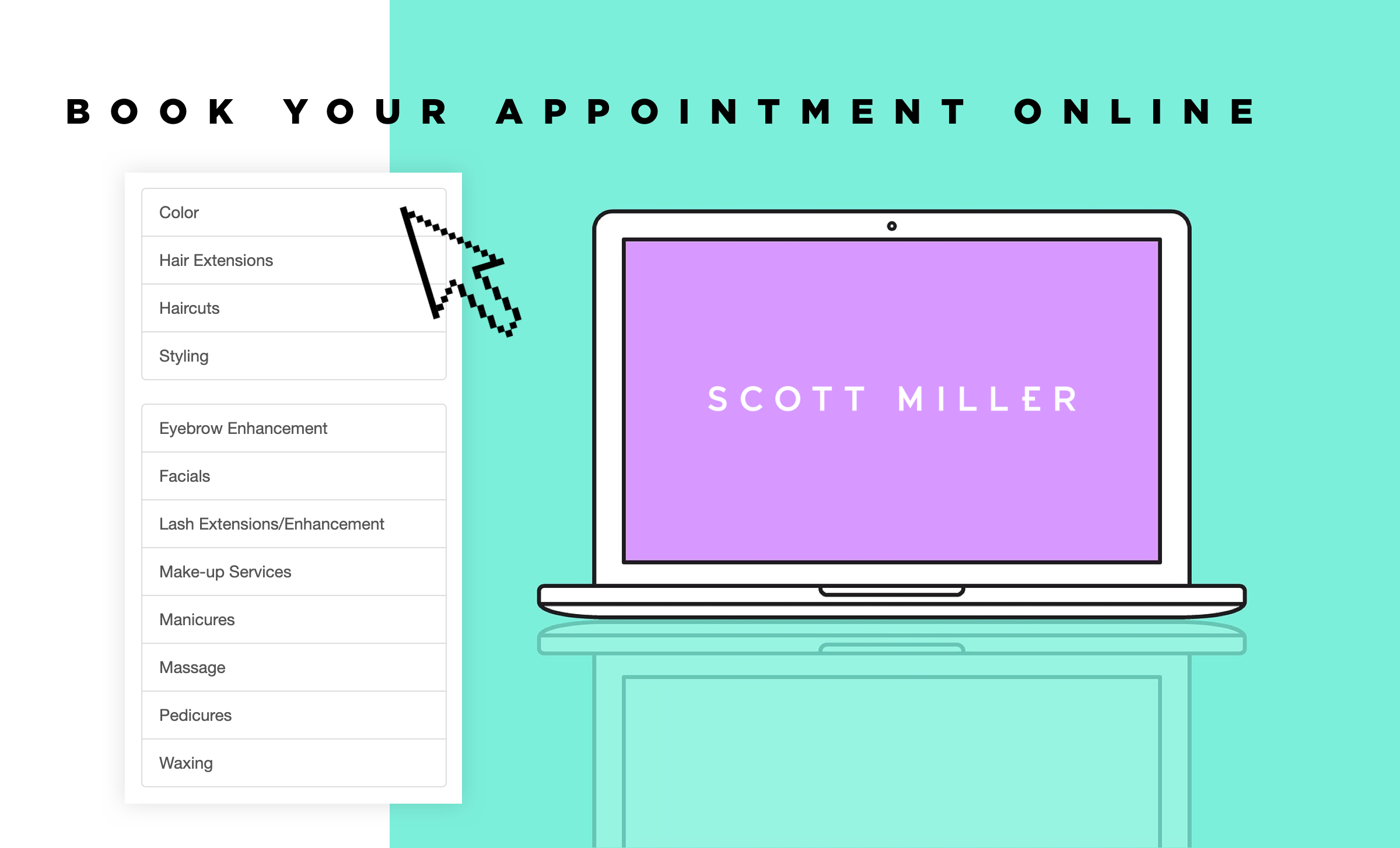 Book your next appointment online